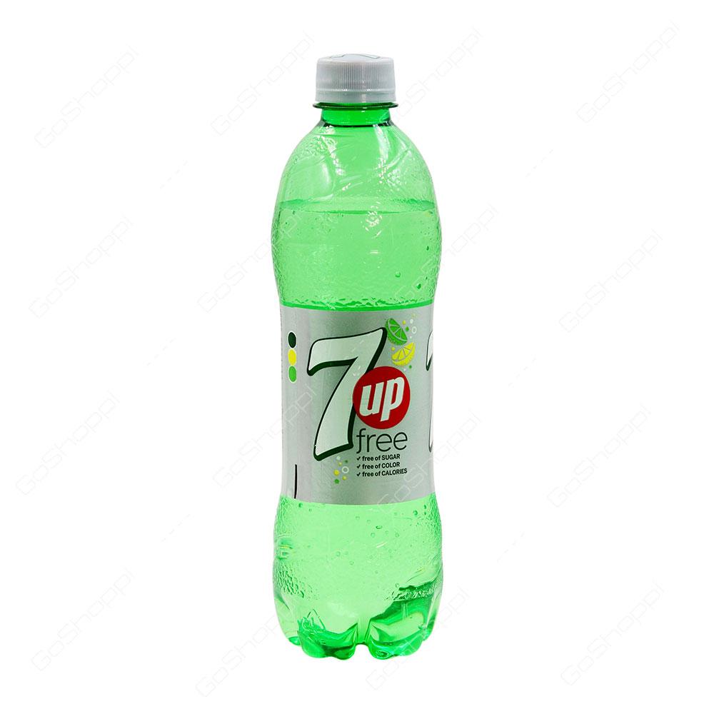 7up Free Bottle 500 ml