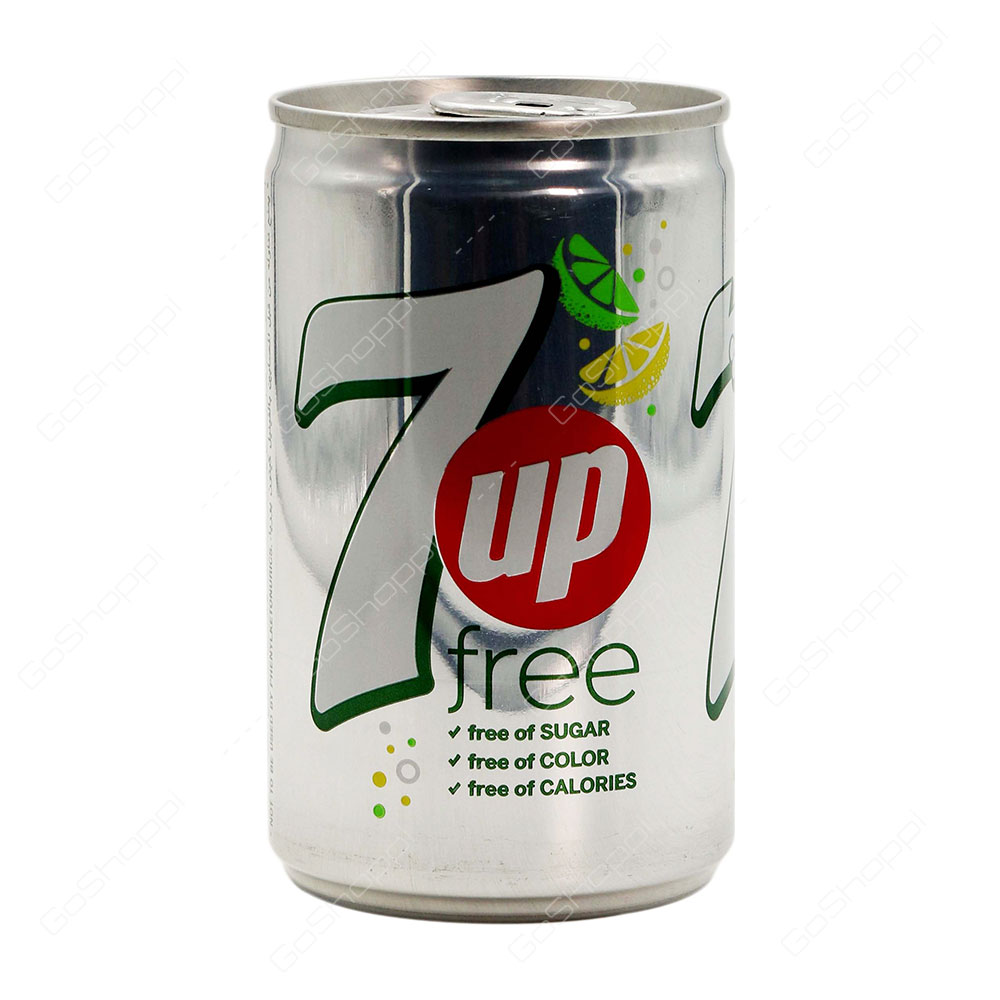 7up Free Can 150 ml
