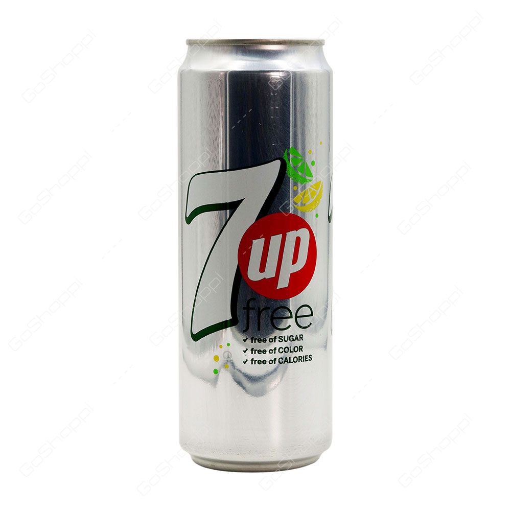 7up Free Can 355 ml