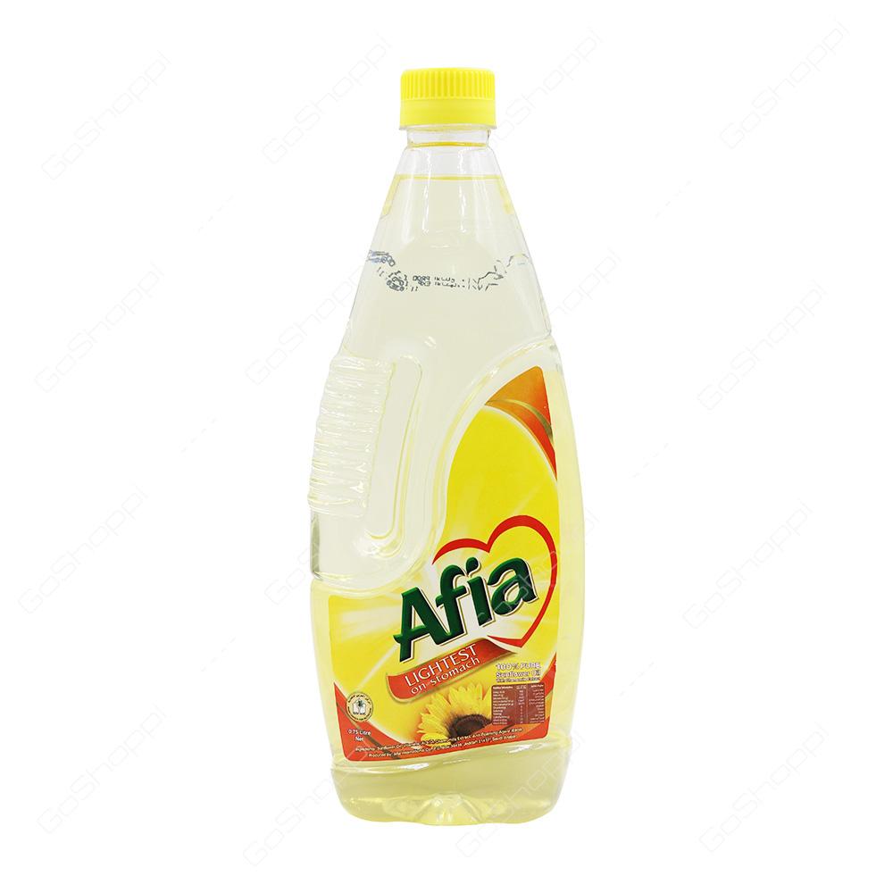 Afia Lightest Sunflower Oil 750 ml
