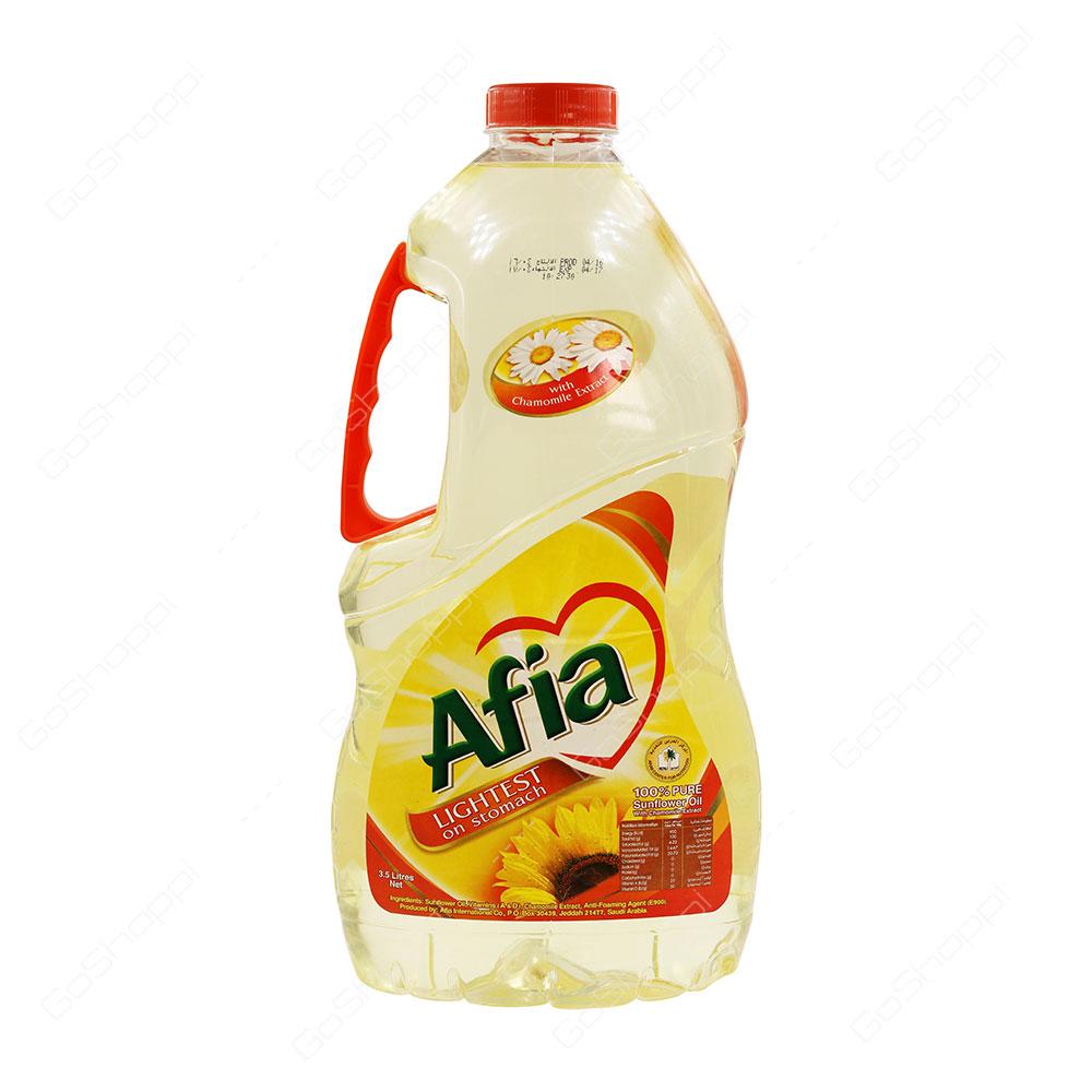 Afia Sunflower Oil 3.5 l