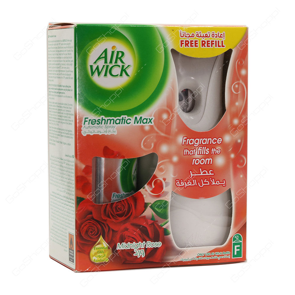 Air Wick Freshmatic Max Midnight Rose 250 ml