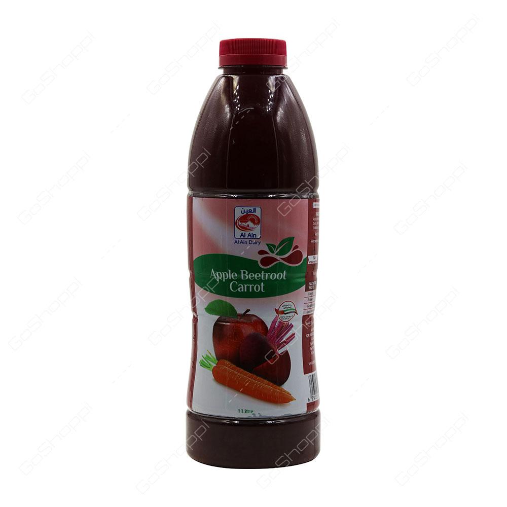 Al Ain Apple Beetroot Carrot Juice 1 l