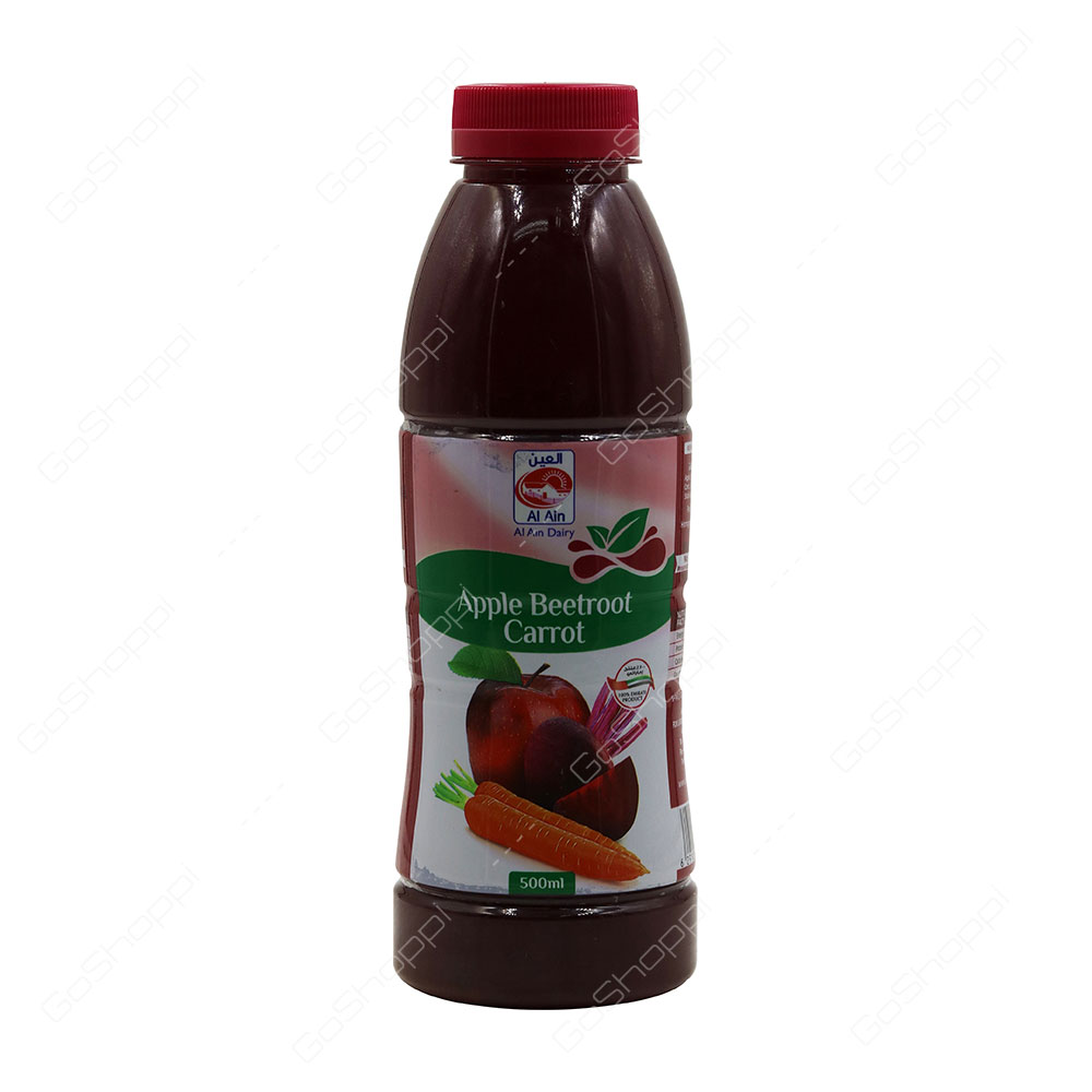 Al Ain Apple Beetroot Carrot Juice 500 ml