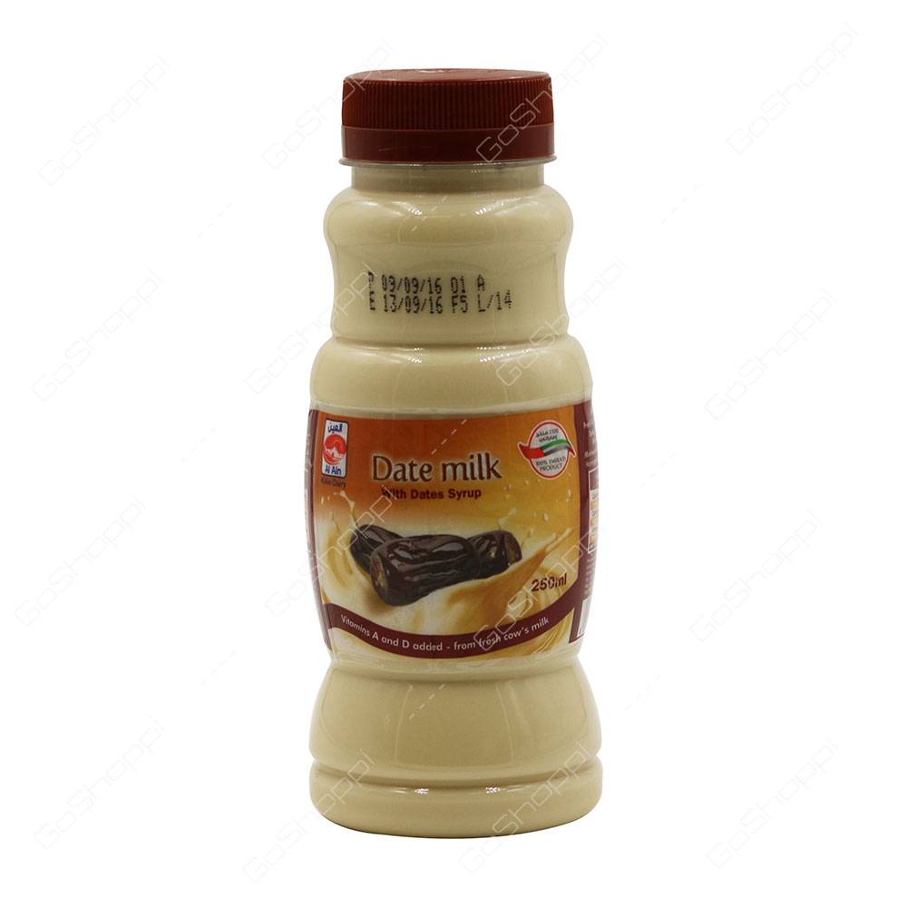 Al Ain Date Milk With Dates Syrup 250 ml