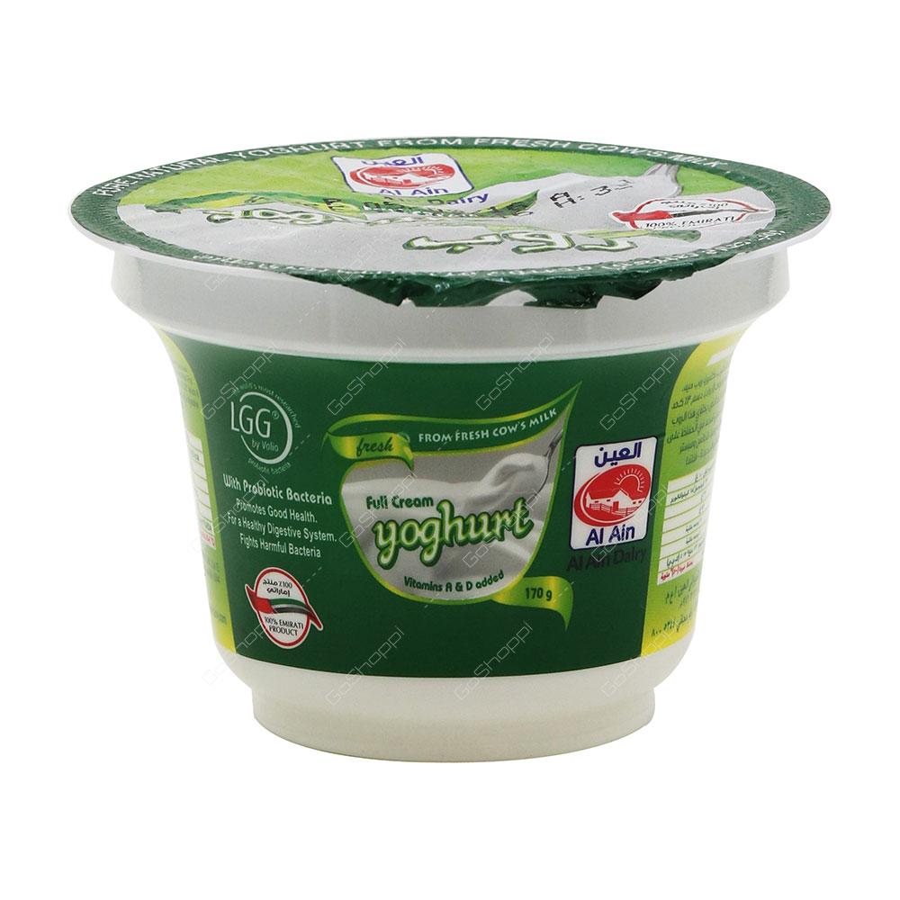 Al Ain Full Cream Yoghurt 170 g