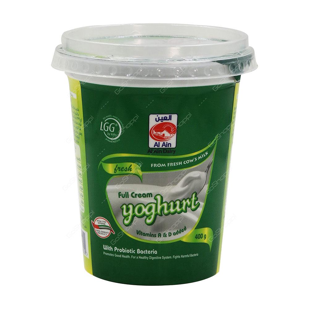 Al Ain Full Cream Yoghurt 400 g