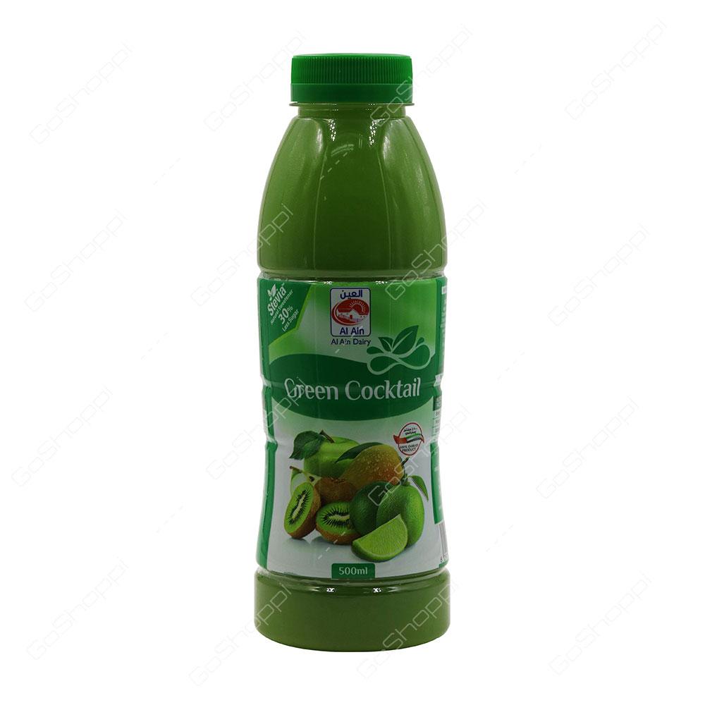 Al Ain Green Cocktail Juice 500 ml