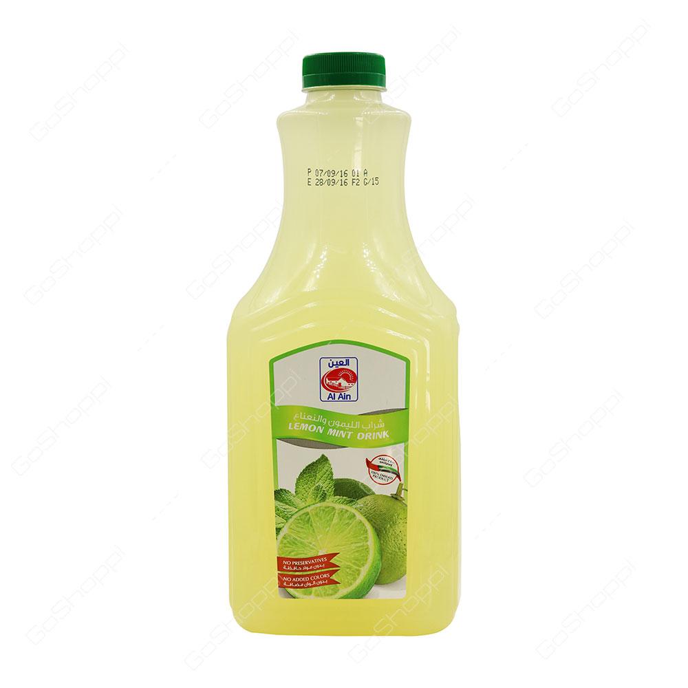 Al Ain Lemon Mint Drink 1.8 l