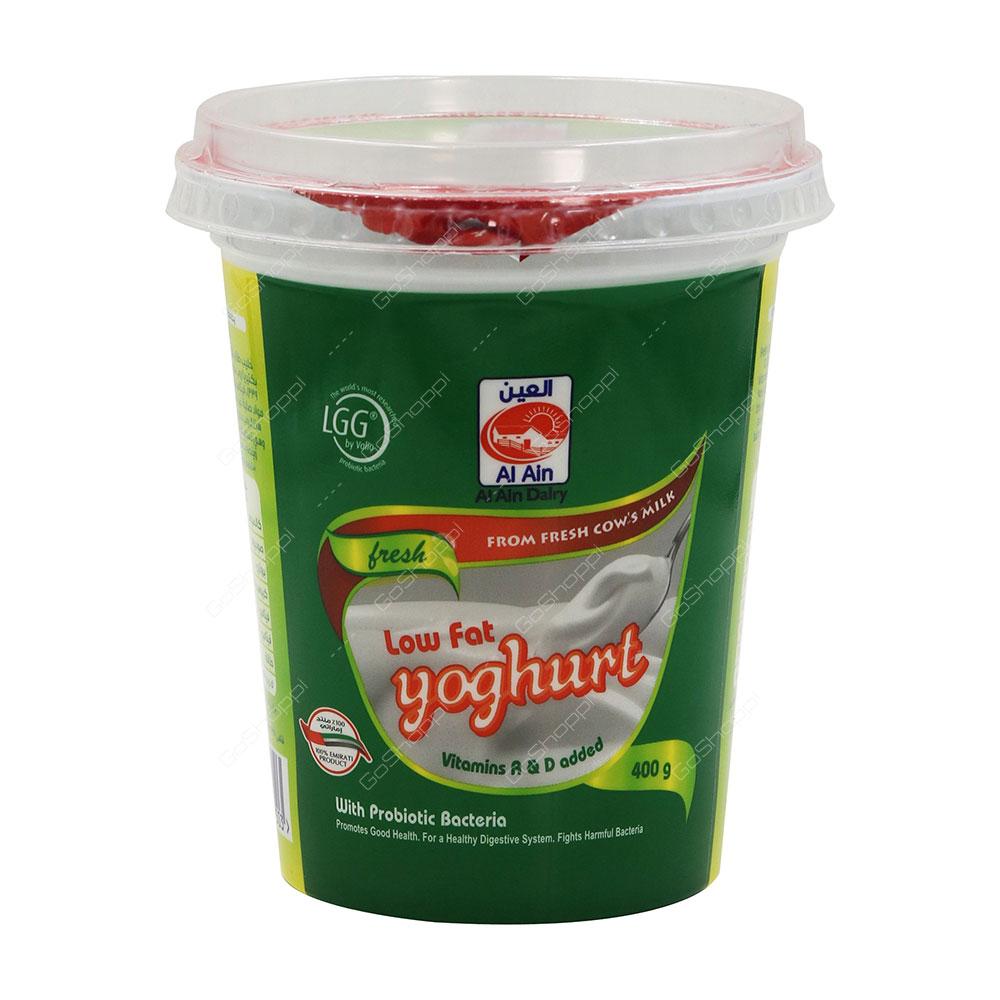 Al Ain Low Fat Yoghurt 400 g