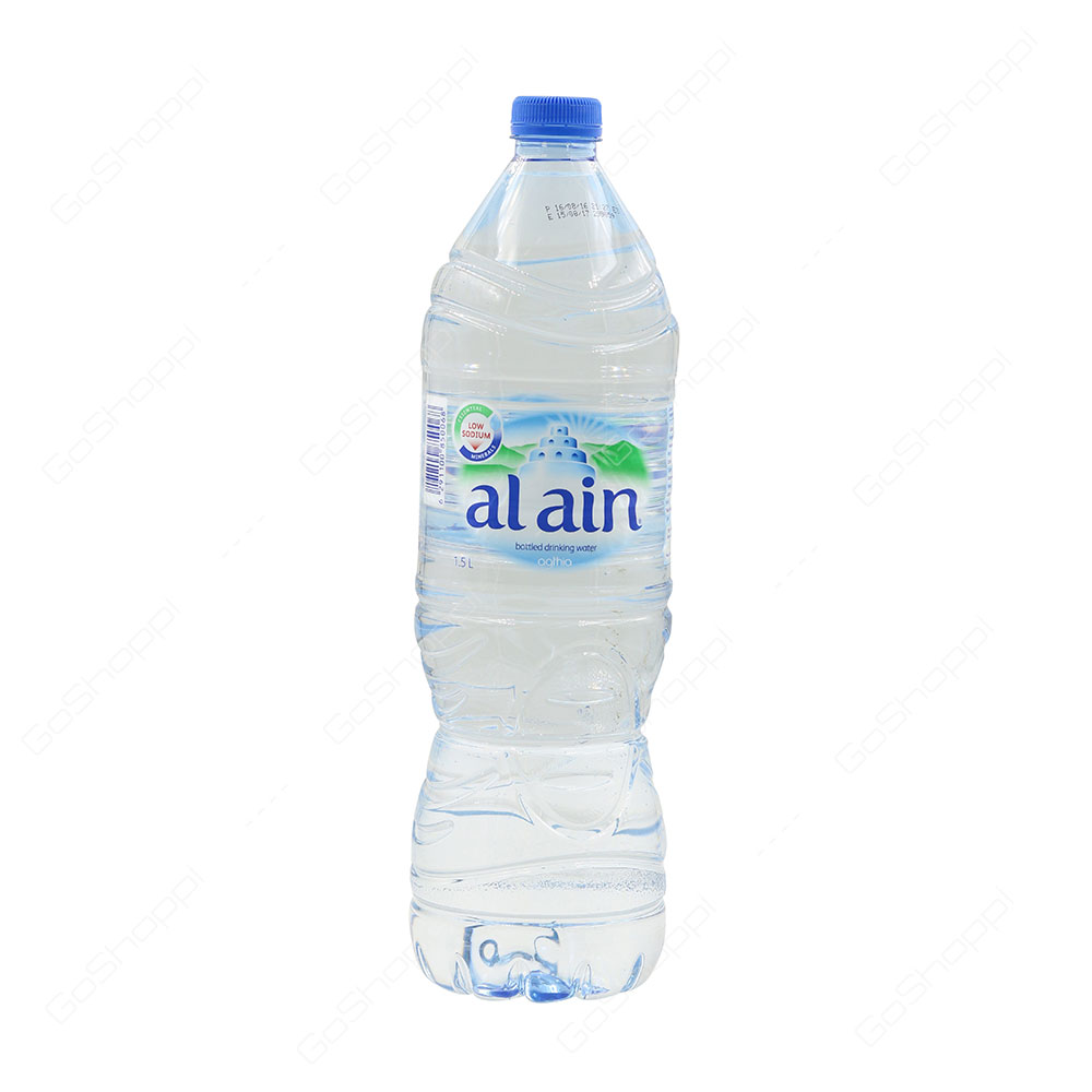 Al Ain Low Sodium Bottled Drinking Water Agthia 1.5 l