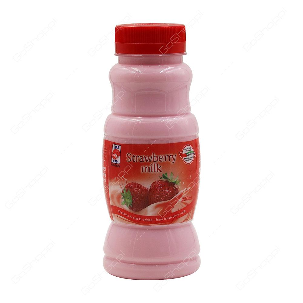 Al Ain Strawberry Milk 250 ml