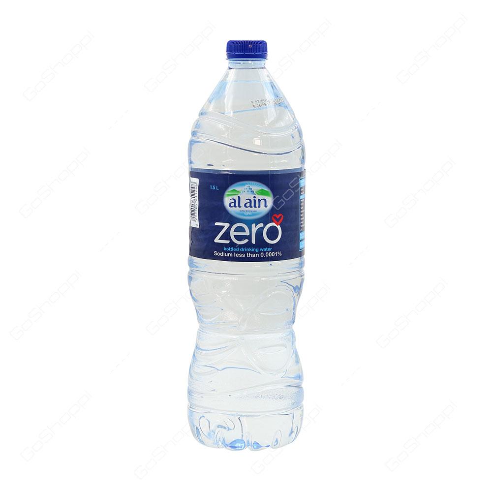 Al Ain Zero Sodium Free Bottled Drinking Water 1.5 l