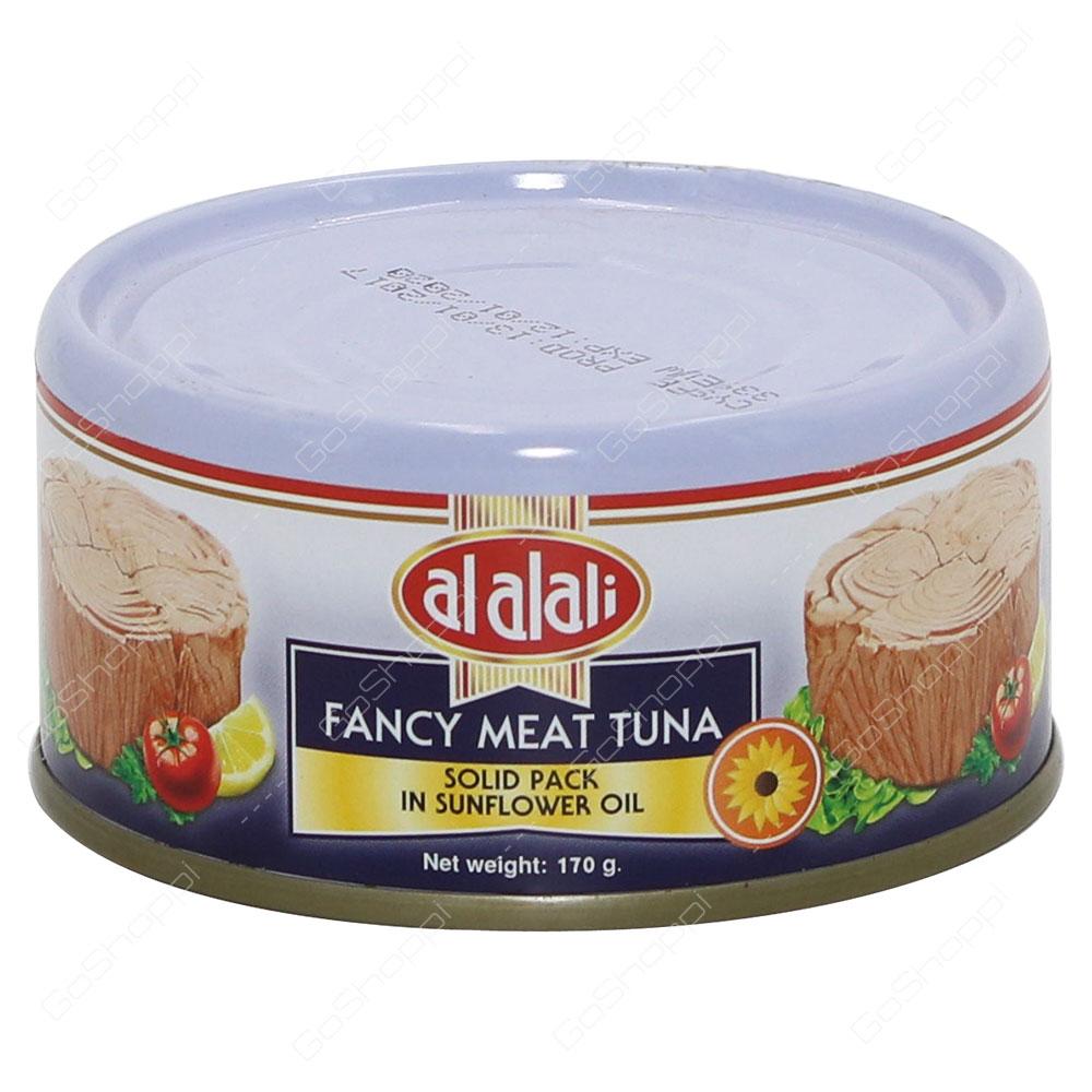 Al Alali Fancy Meat Tuna Solid Pack In Sunflower Oil 170 g