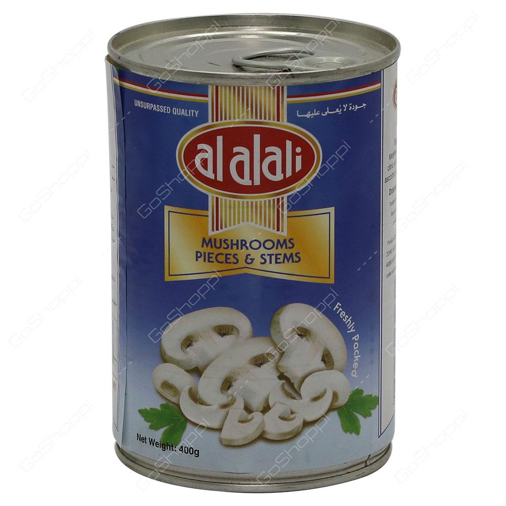 Al Alali Mushrooms Pieces And Stems 400 g