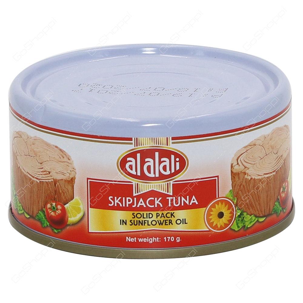 Al Alali Skipjack Tuna Solid Pack In Sunflower Oil 170 g