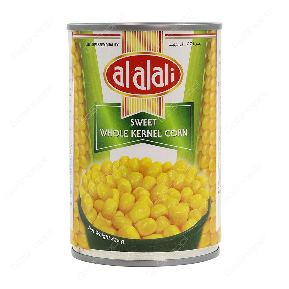 Al Alali Sweet Whole Kernel Corn 425 g