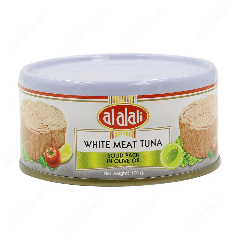 Al Alali White Meat Tuna Solid Pack In Olive Oil 170 g