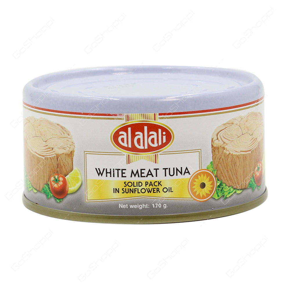 Al Alali White Meat Tuna Solid Pack In Sunflower Oil 170 g