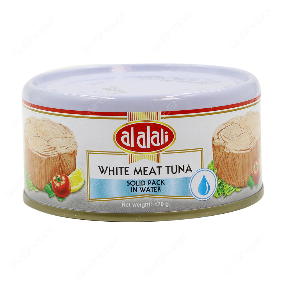 Al Alali White Meat Tuna Solid Pack In Water 170 g