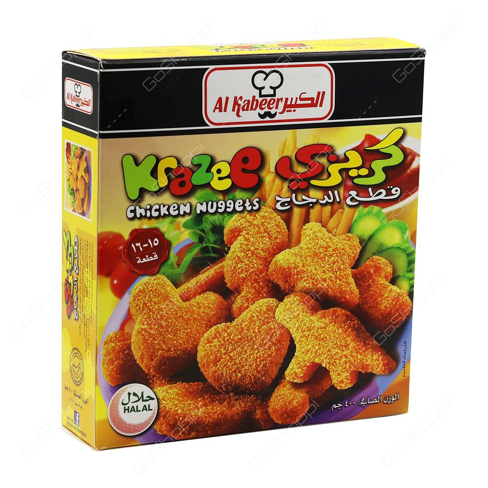 Al Kabeer Krazee Chicken Nuggets   400 g