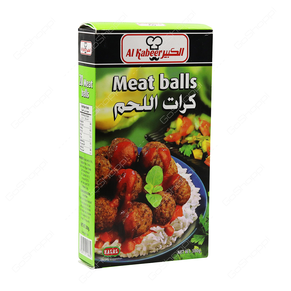 Al Kabeer Meat Balls    300 g