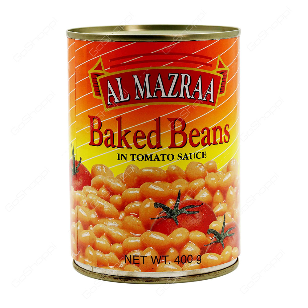 Al Mazraa Baked Beans In Tomato Sauce 400 g