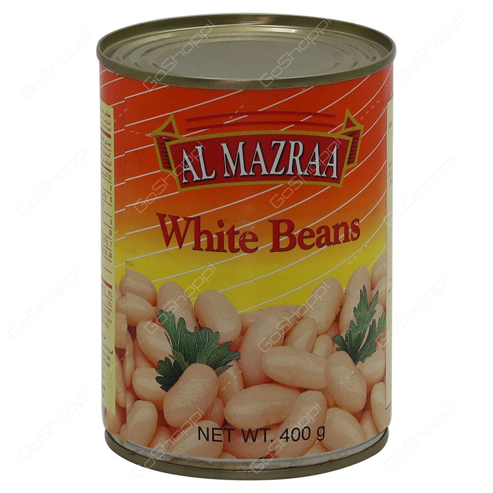 Al Mazraa White Beans 400 g