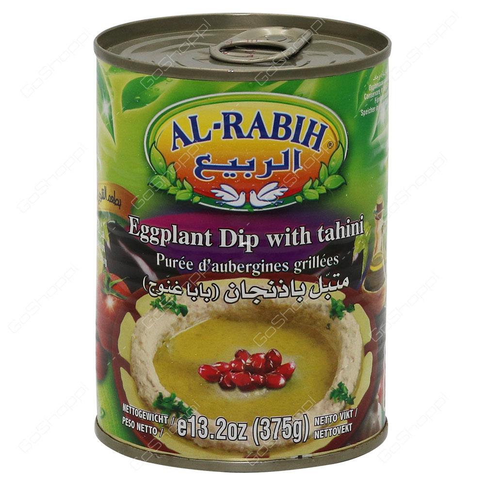 Al Rabih Eggplant Dip With Tahini 375 g