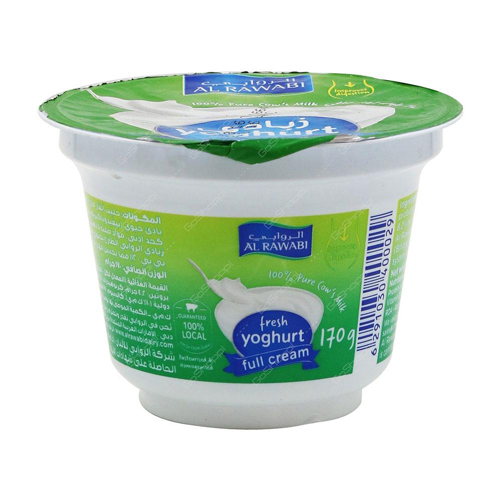 Al Rawabi Fresh Yoghurt Full Cream 170 g