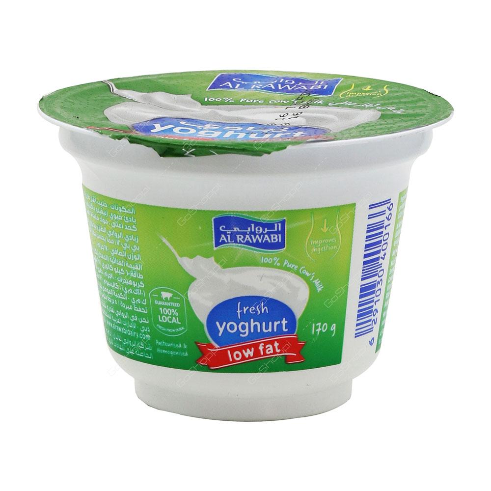 Al Rawabi Fresh Yoghurt Low Fat 170 g