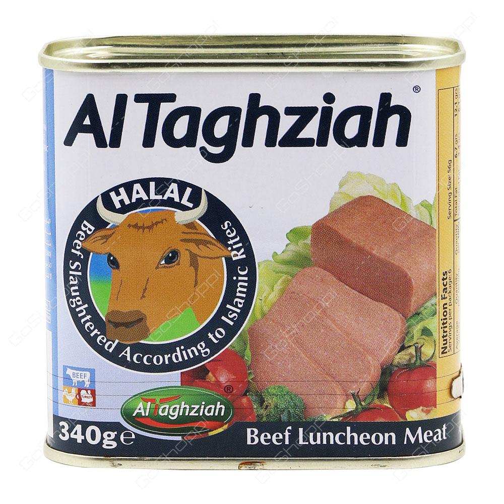 Al Taghziah Beef Luncheon Meat 340 g