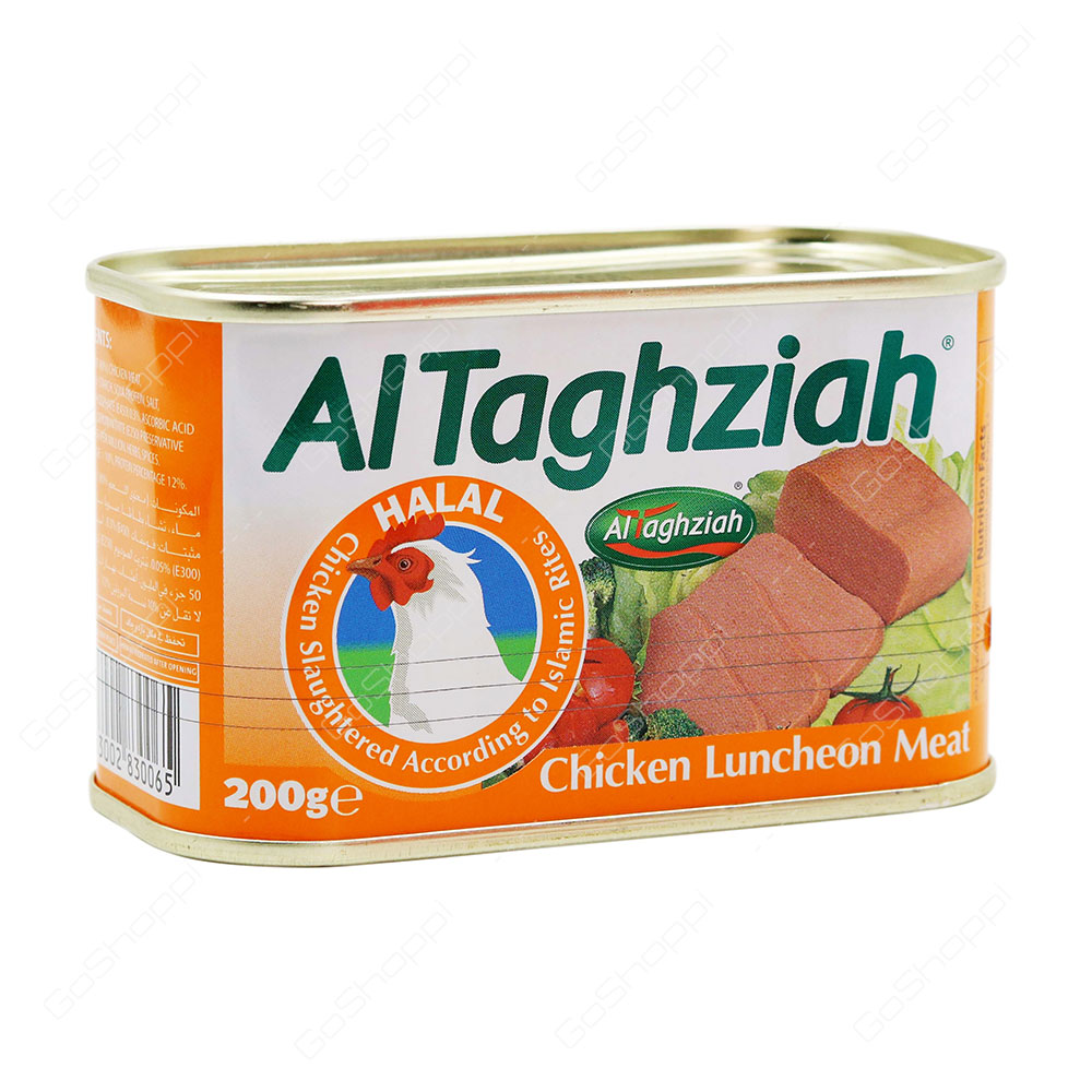 Al Taghziah Chicken Luncheon Meat 200 g