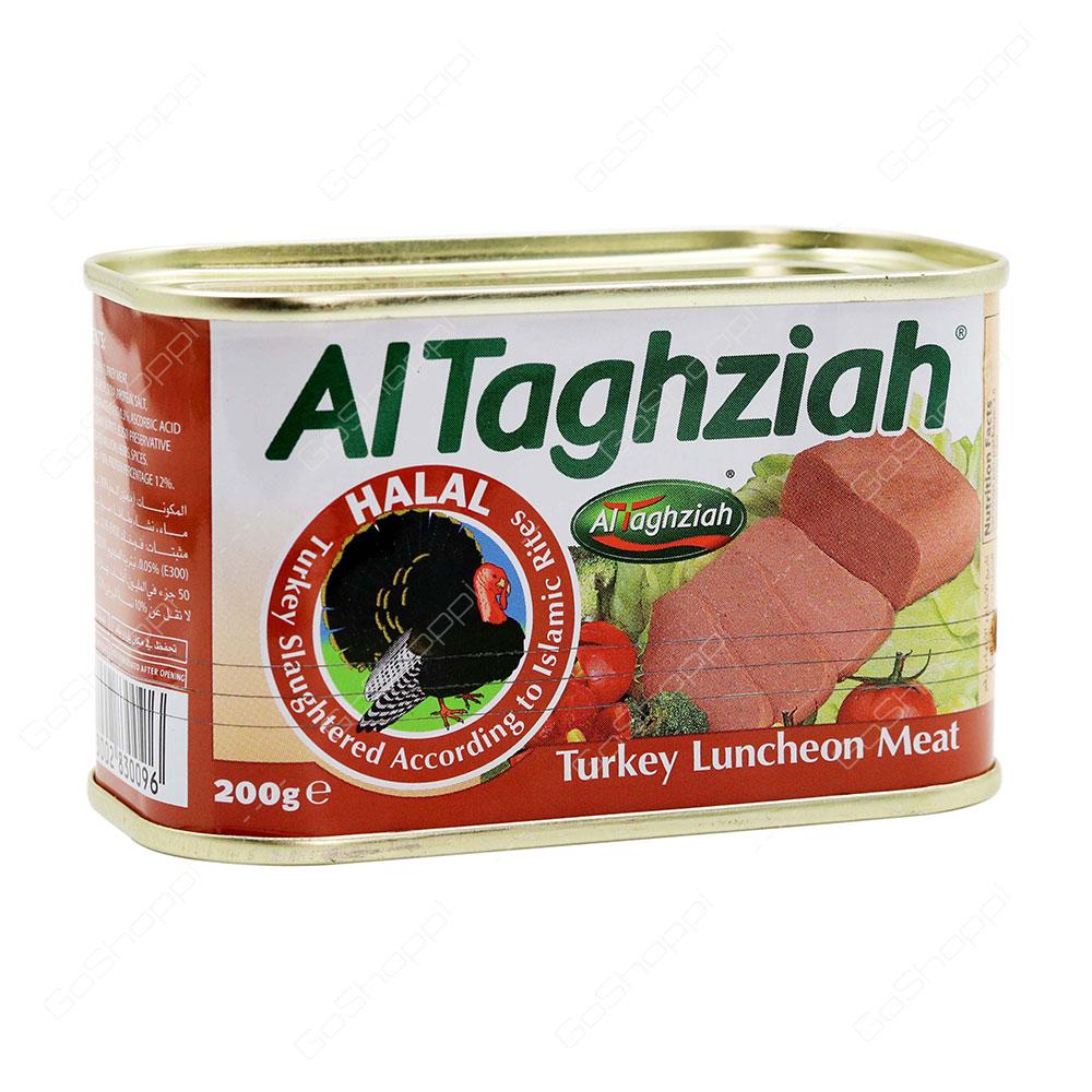 Al Taghziah Turkey Luncheon Meat 200 g