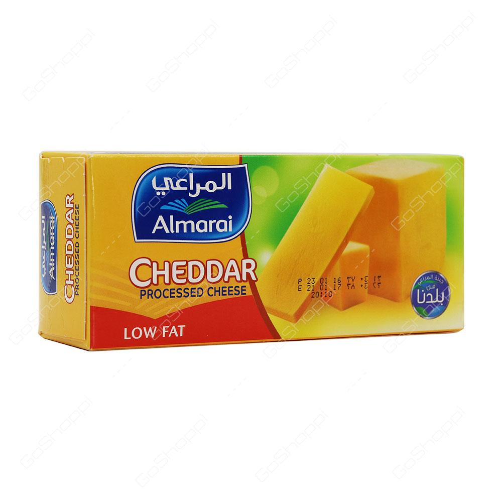 Almarai Cheddar Processed Cheese Low Fat 454 g