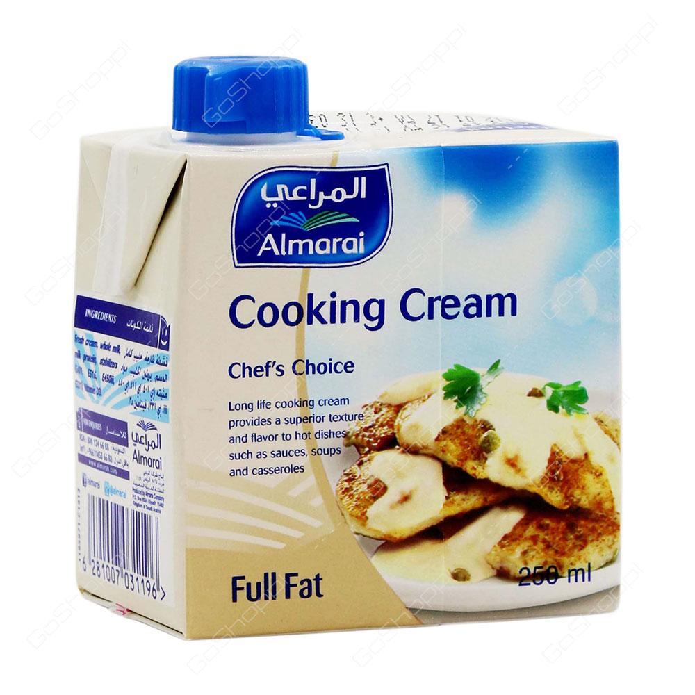 Almarai Cooking Cream Full Fat 250 ml