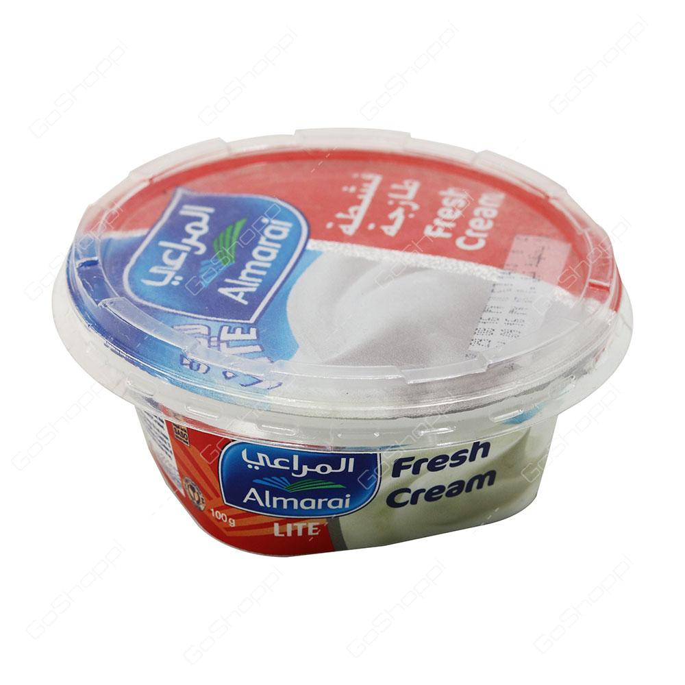Almarai Fresh Cream Lite 100 g