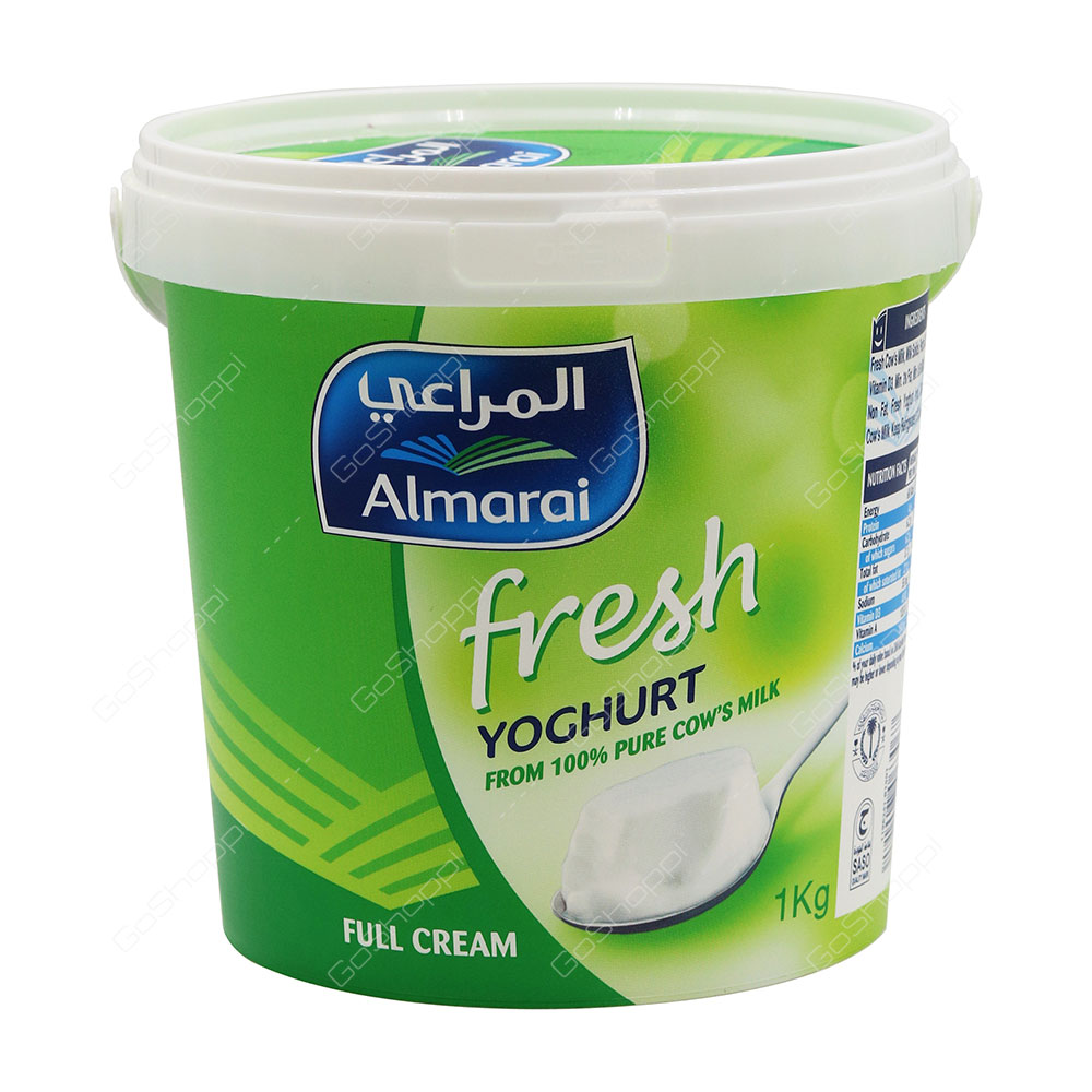 Almarai Fresh Yoghurt Full Cream 1 kg