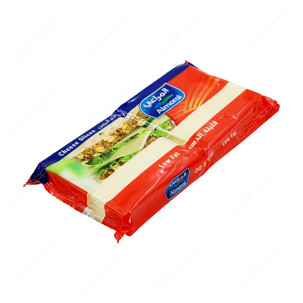 Almarai Low Fat Cheese Slices 20 Slices