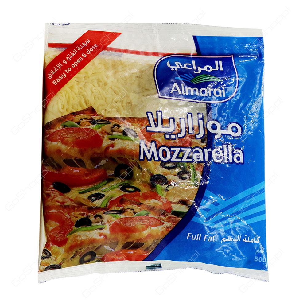Almarai Mozzarella Full Fat Shredded Cheese 500 g