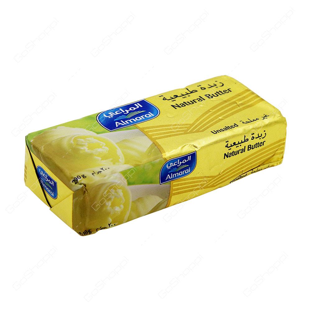 Almarai Natural Butter Unsalted 200 g