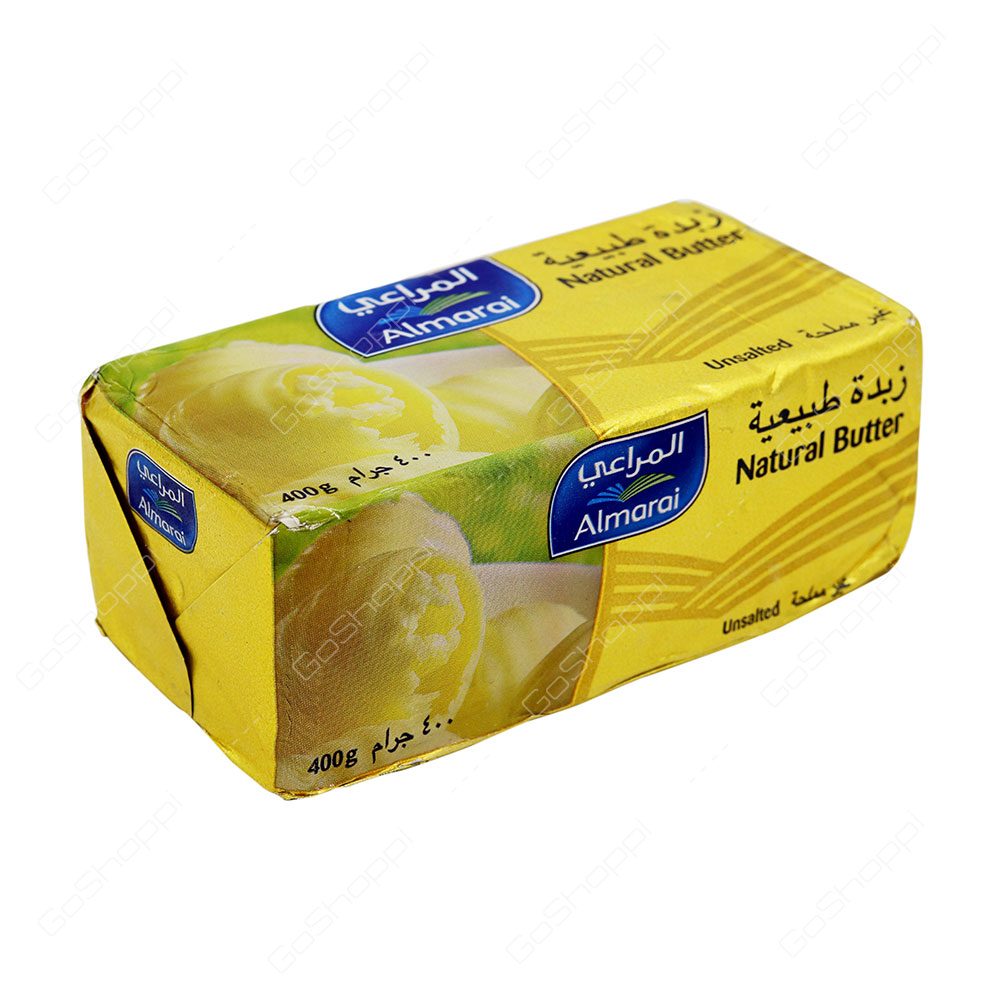 Almarai Natural Butter Unsalted 400 g