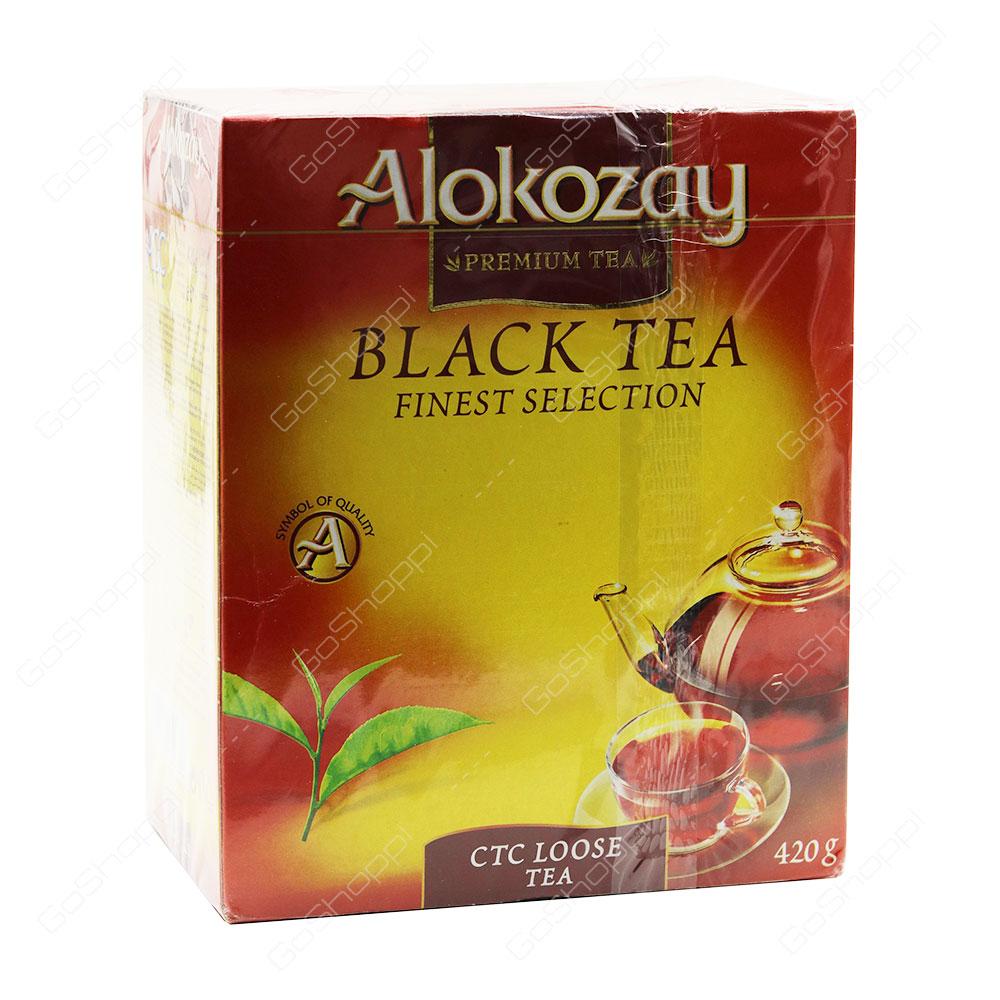 Alokozay Black Tea Ctc Loose Tea 420 g