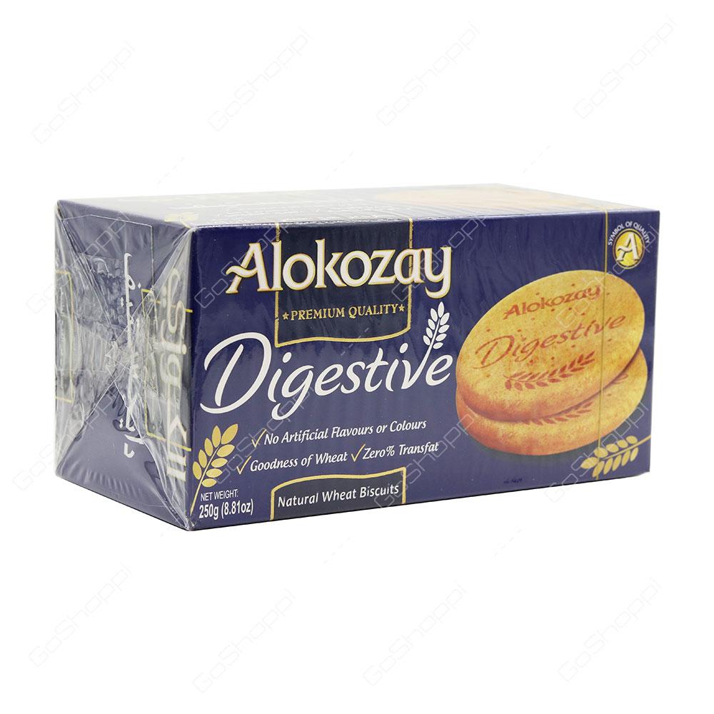 Alokozay Digestive Natural Wheat Biscuits 250 g