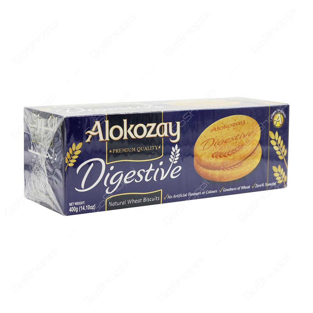 Alokozay Digestive Natural Wheat Biscuits 400 g