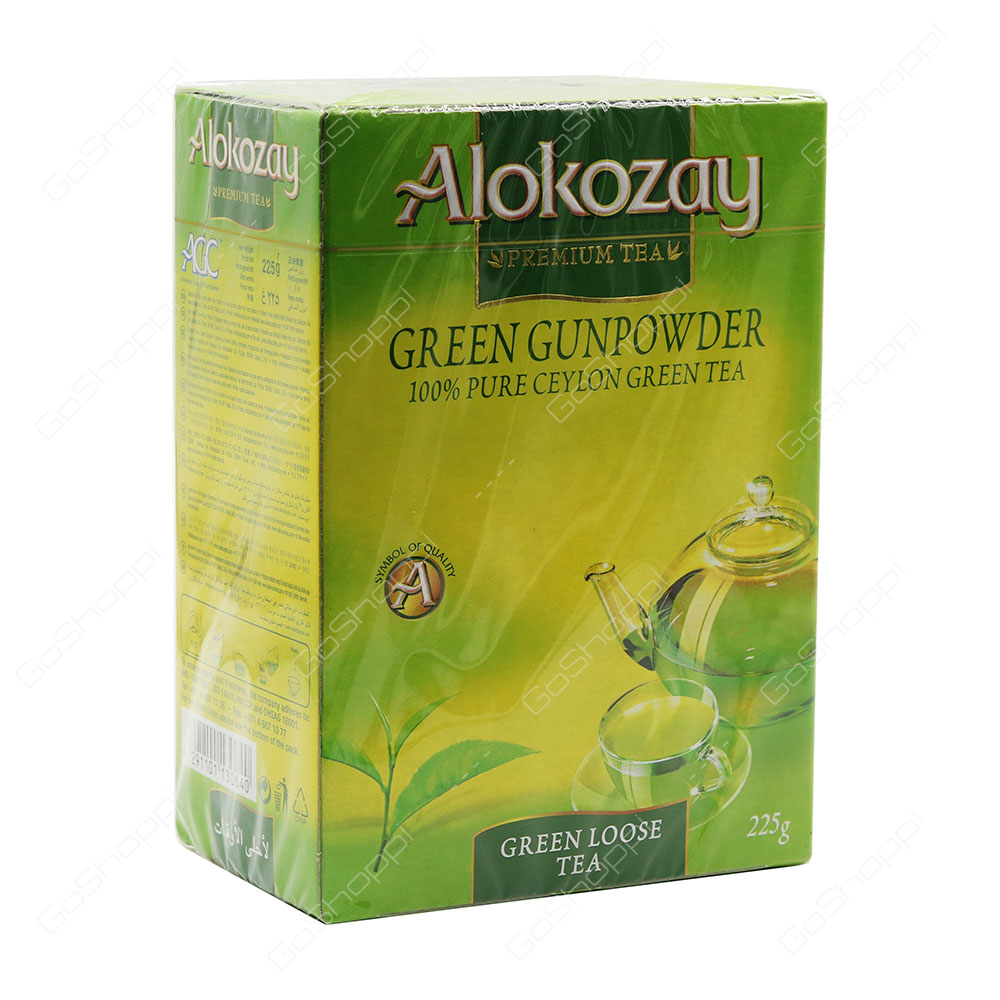 Alokozay Green Gunpowder Green Loose Tea 225 g