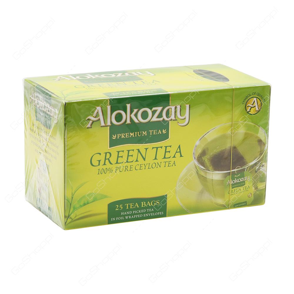 Alokozay Green Tea Bags 25 Bags