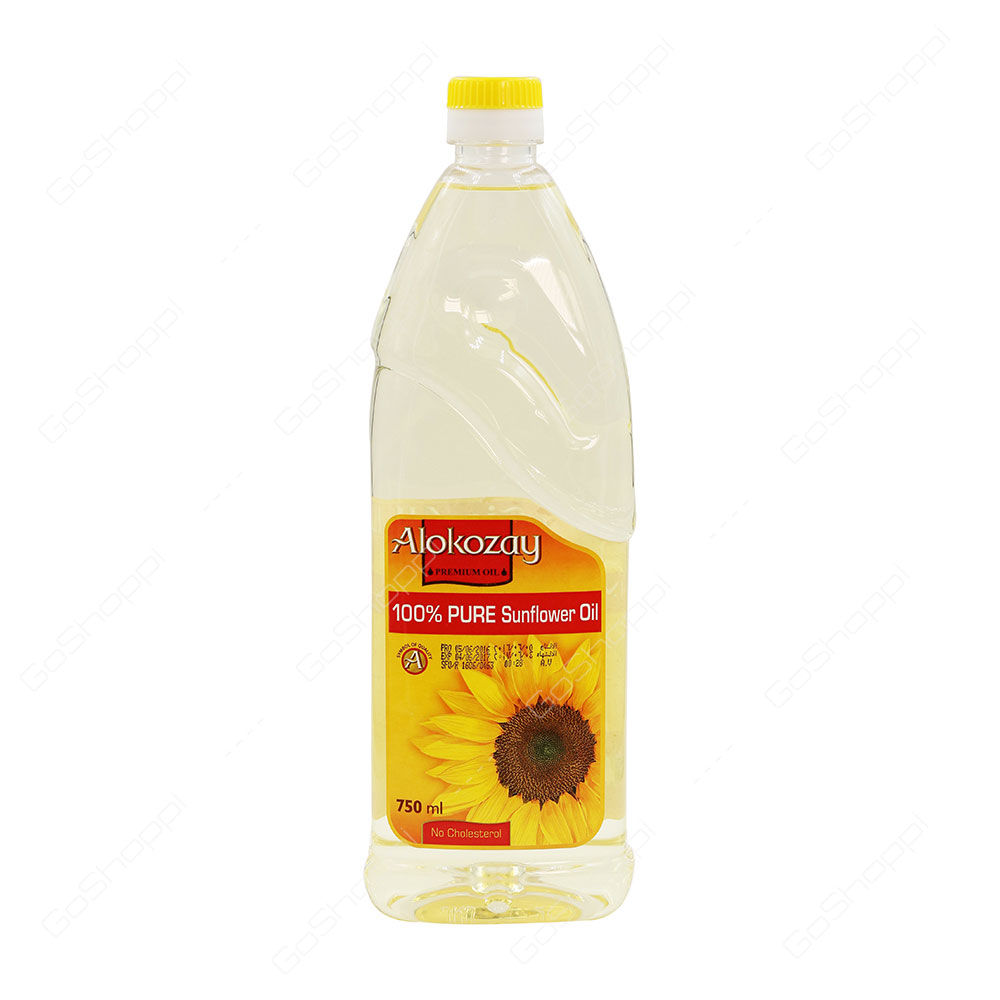 Alokozay Pure Sunflower Oil 750 ml