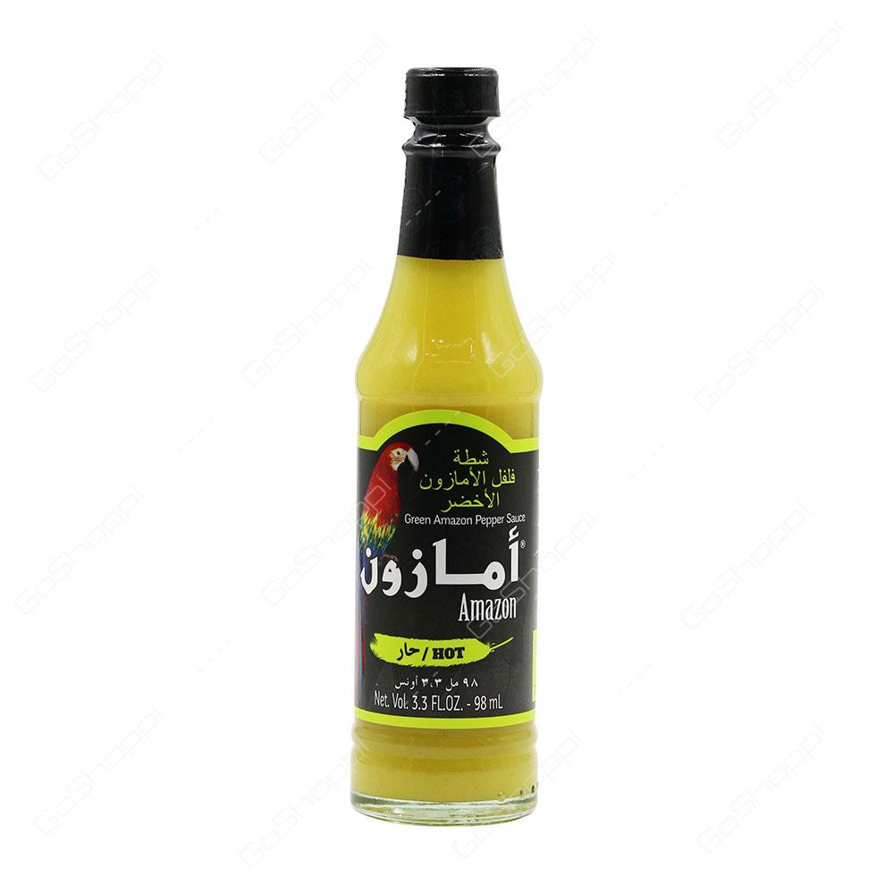 Amazon Green Amazon Pepper Sauce Hot 98 ml