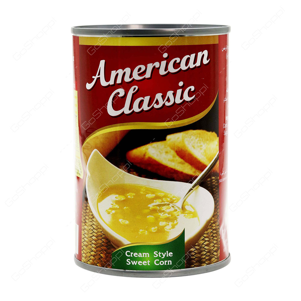 American Classic Cream Style Sweet Corn 425 g